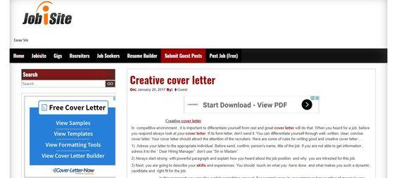 investment banking cover letter Learn career usa Pinterest