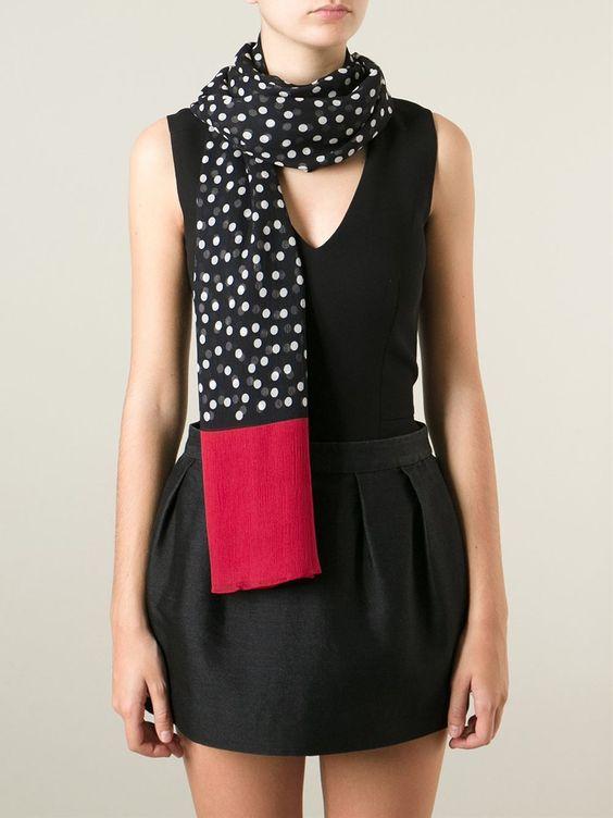 Dolce & Gabbana Echarpe De Seda - Julian Fashion - Farfetch.com
