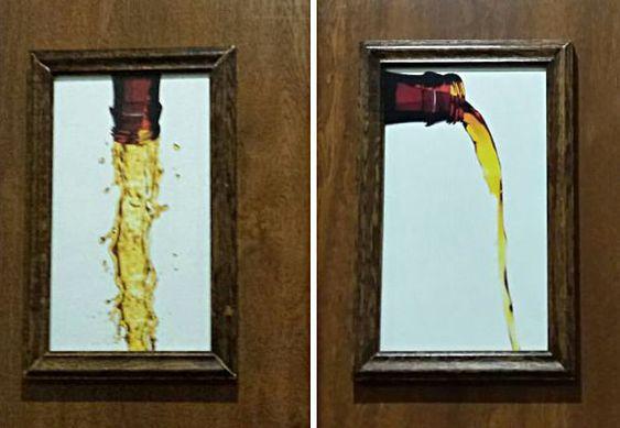 BOM HUMOR :) / Os 16 cartazes mais criativos de banheiros | +MMS