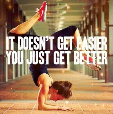 just get better: