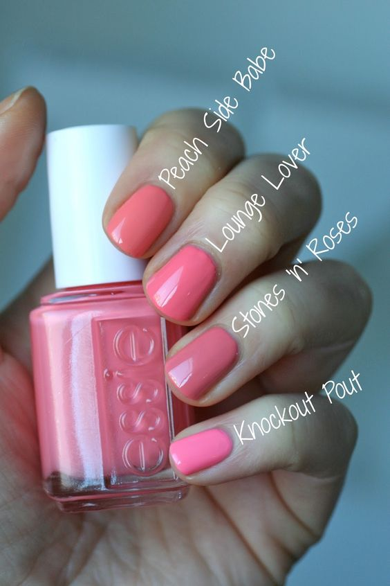 Essie Envy: Essie Spring 2016 - Lounge Lover Comparisons: