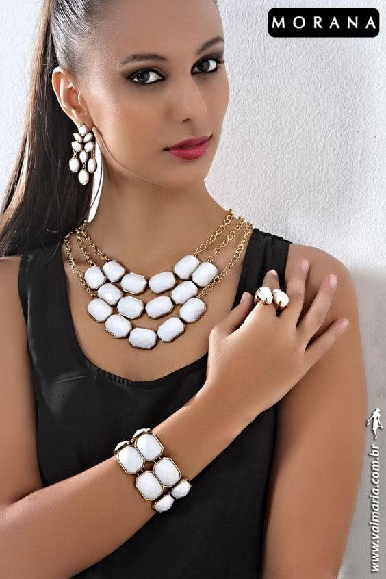 Conjunto branco Morana