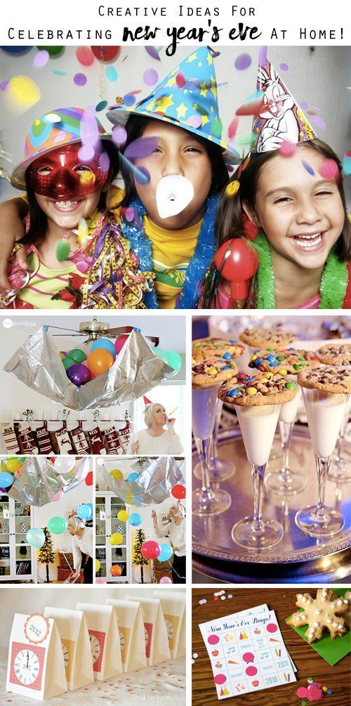 31 New Year S Eve Party Ideas For Celebrating At Home Kids New Years Eve New Year S Eve Celebrations New Year S Eve 2019