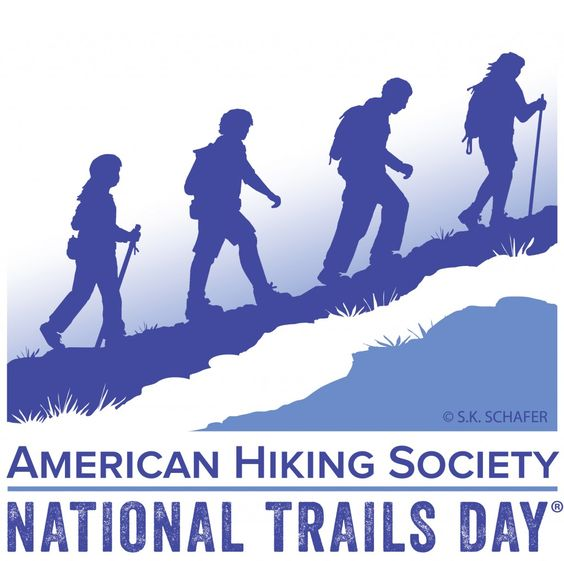 Saturday June 7th is National Trails Day.
