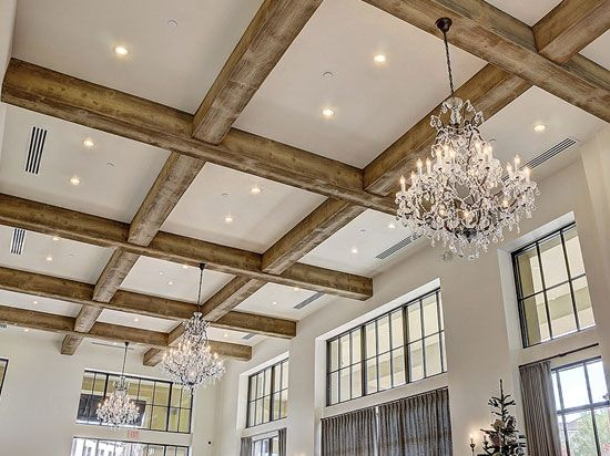 Beautiful Wood Beam Ceiling Ideas For A Modern Vintage Look In