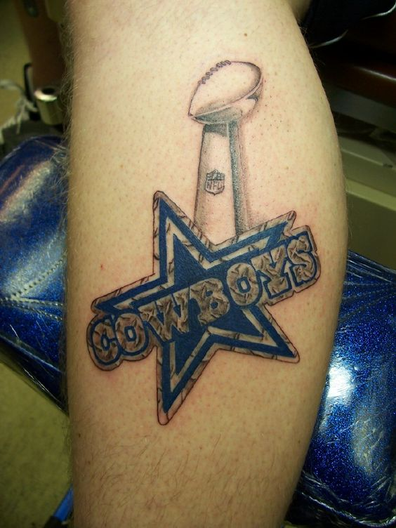 Thoughts the o 39 jays and dallas cowboys on pinterest for Dallas cowboys star temporary tattoos