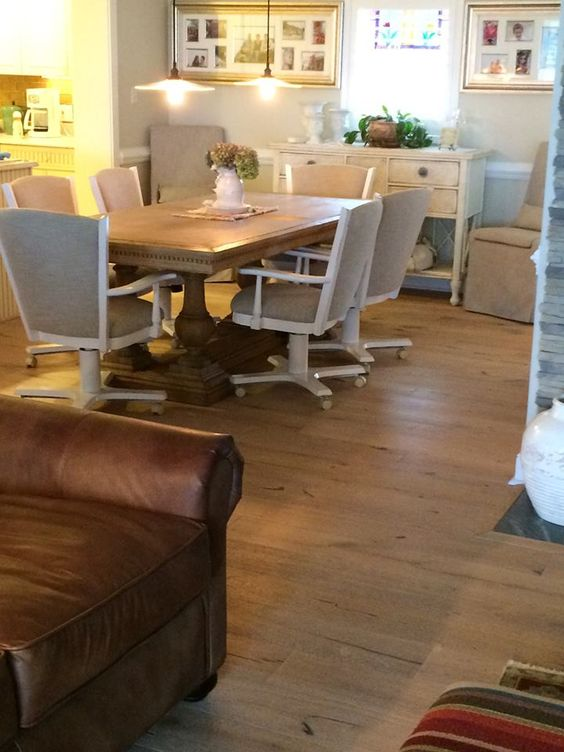 Beautifully Accented Hardwood Flooring Installed By Lu0026M Carpet One Floor  And Home!