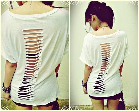 DIY - Cut Shirt