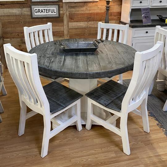 Farmhouse Kitchen Table Sets, Slate Dining Room Table Setup