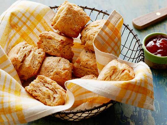 Whole-Grain Biscuits