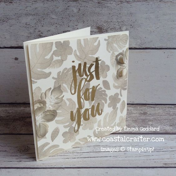 Stampin Up Botanical Blooms bundle & SAB Botanicals for You, By Emma Goddard 2016 Saleabration 2016 Occasions Catalog