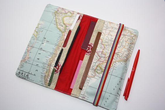 Family Travel Wallet Paspoort hoes  reis documenten   Portemonnee passport…