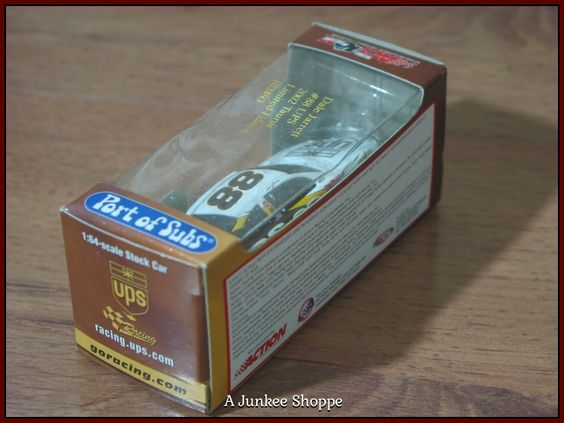 DALE JARRETT #88 UPS Action RCCA Port Of Subs 2002 Promo 1/64 Scale Diecast Car  P732  http://nascarniche.blogspot.com/