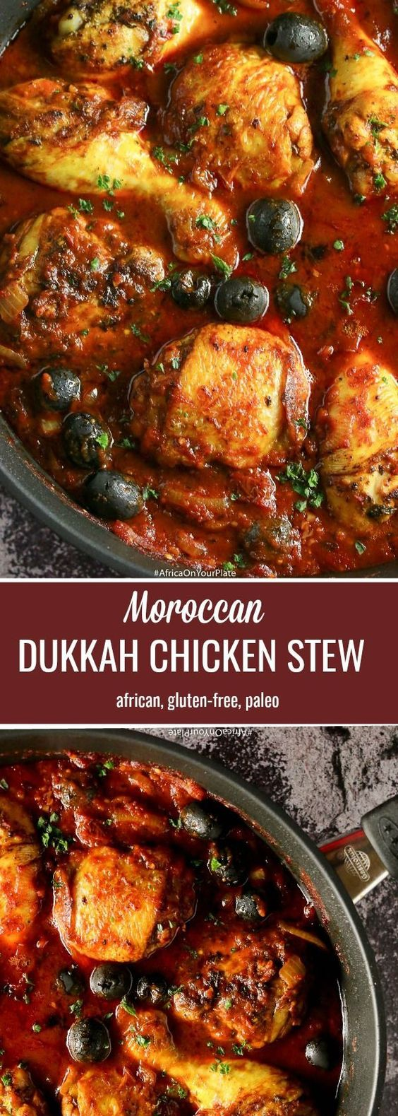Spicy Dukkah Moroccan Chicken Stew