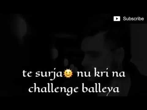 Ninja New Punjabi Song Challenge For Whatsapp Status