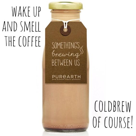 Wake up and smell the #coldbrew #coffee #dairyfree #latte #organiccoffee warning will cause extreme #energy