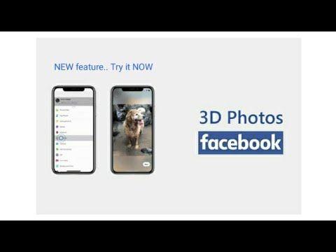 حول صورتك العادية لصورة ثلاثية الأبعاد على الفيس بوك Youtube Youtube Tutorials Tutorial Facebook