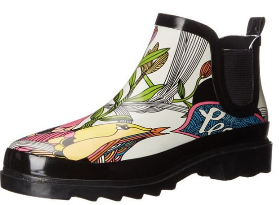 Women's Funky rain boots come in short boots too! Find great colors and styles for any body on your gift list.