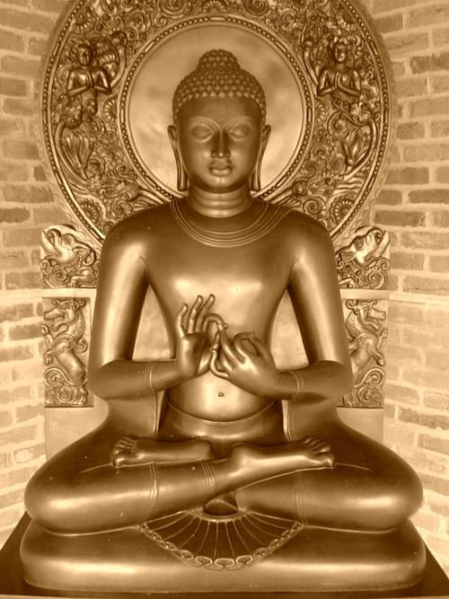 Buddha in Sarnath