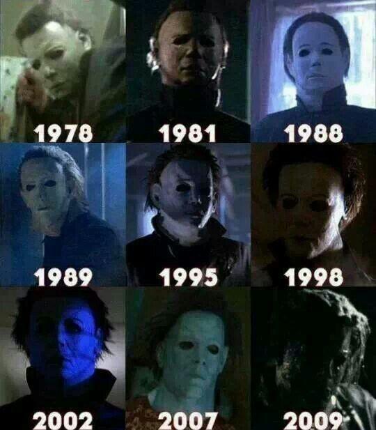 Michael Myers thru the years