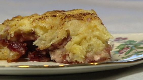 Kosher by Design Cranberry Pineapple Kugel: