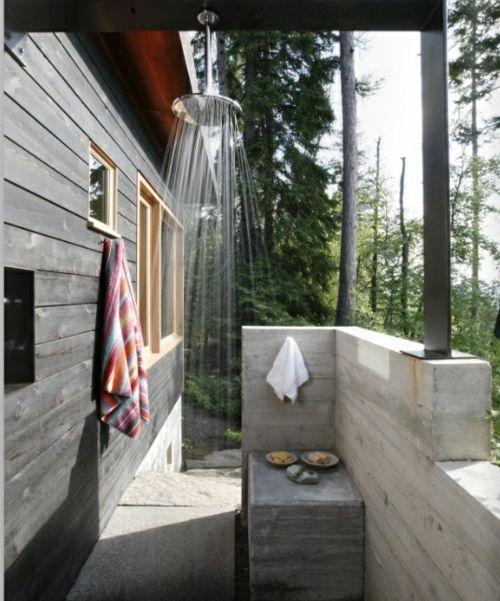 Wellness Spa Wie Sie Dusche Im Garten Fur Erfrischung Im Sommer Selber Bauen Bauen Dusche Erfrischung Garten Sel Aussenbad Aussendusche Outdoor Platze
