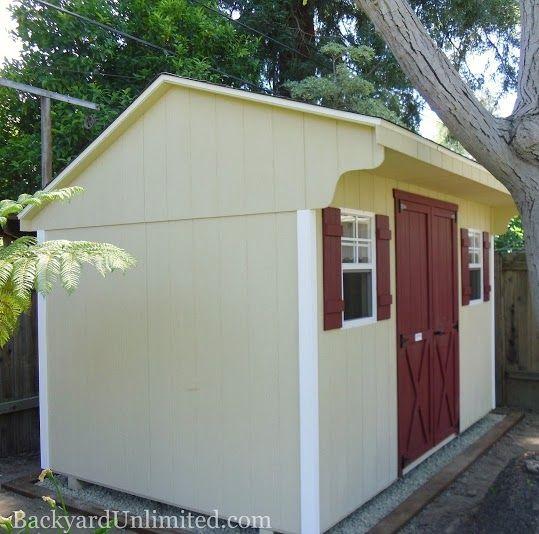 8 X12 Quaker Shed Sacramento Ca Http Www Backyardunlimited Com Sheds Php Shed Backyard Retreat Backyard