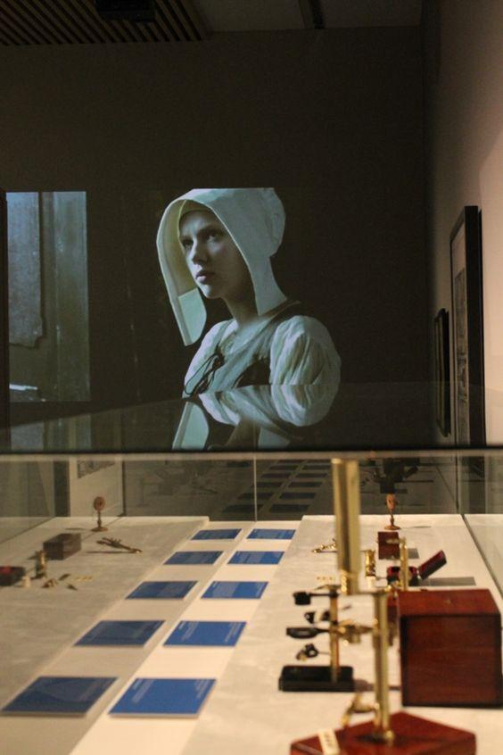 """Exposición """"El amigo de Vermeer. El primer microscopio"""""""