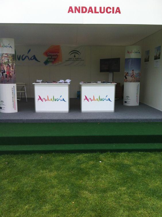 Andalucía presente en el Open de Golf!
