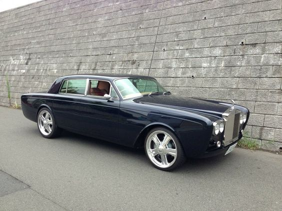 1975 Rolls Royce With A Ls7 Want Pinterest