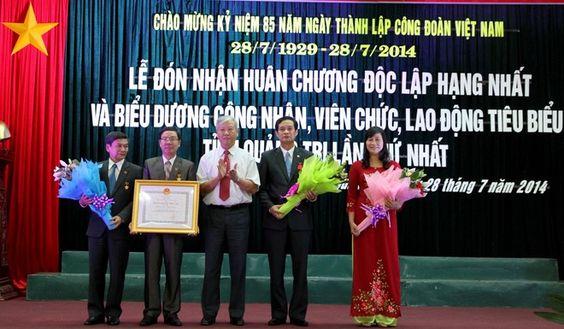 LĐLĐ tỉnh Quảng Trị đón nhận Huân chương Độc lập hạng nhất (LỄ ĐÓN HUÂN CHƯƠNG / 28/7)