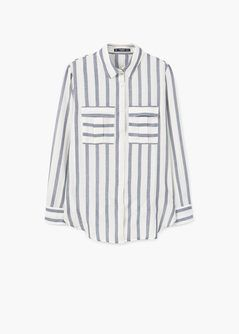 Katoenen blouse met print