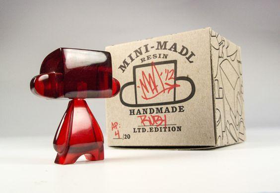 Mini MAD*L - Resin Series by MAD, via Behance