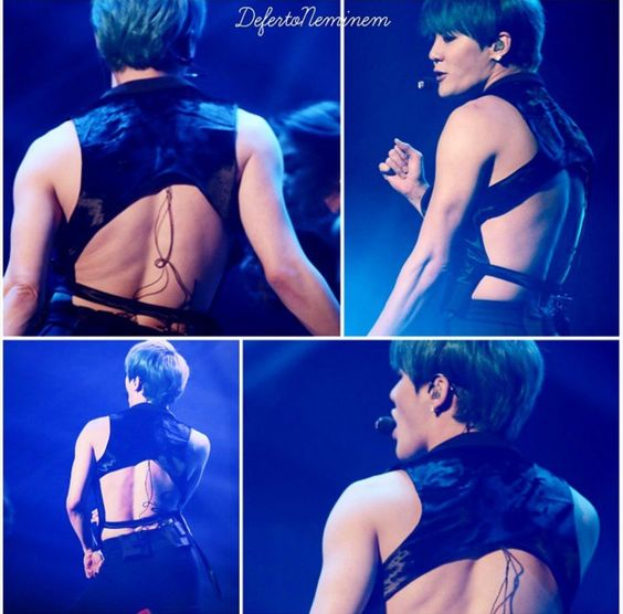 """As you can see, Junsu brought """"Sexy Back"""""""