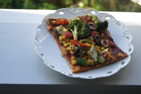 Gluten-free Vegan Whole Grain Pizza Crust Recipe
