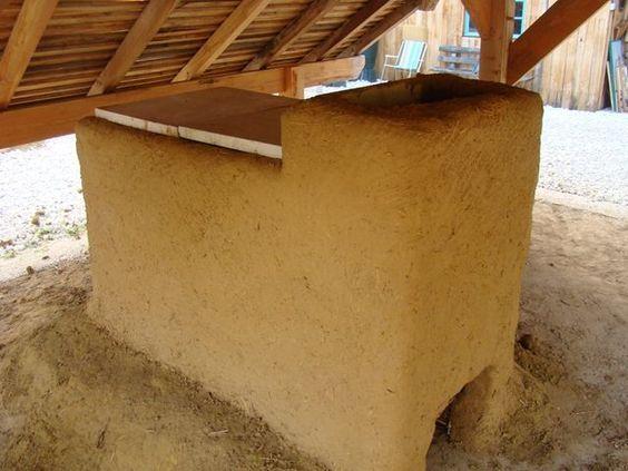 construction d un four bois flamme boucl e et la premi re cuisson l 39 atelier de poterie la. Black Bedroom Furniture Sets. Home Design Ideas