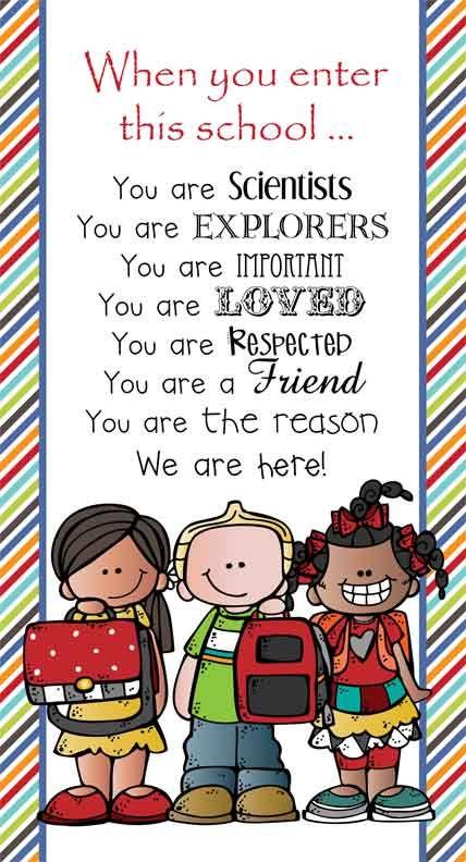 Classroom decoration ideas for teachers - The Brainy Bunch Theme Classroom Decor Character Education Banner