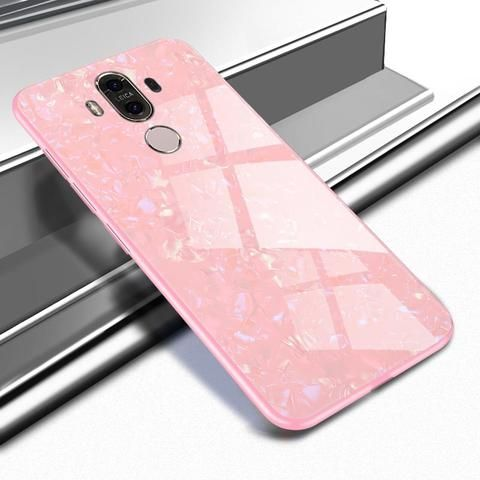 Touchy Style | KMUYSL For Huawei Mate 10 Lite Case Marble Tempered ...