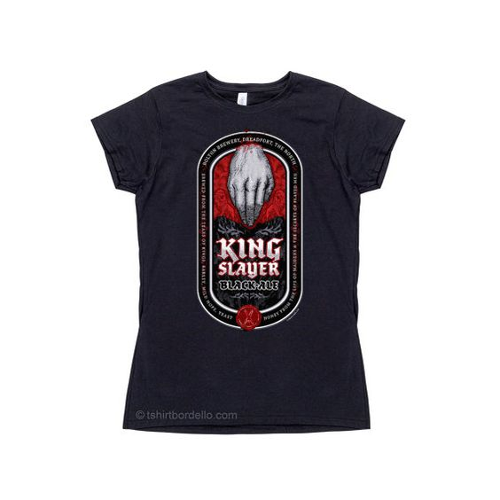 Hey, I found this really awesome Etsy listing at https://www.etsy.com/listing/206402292/womens-king-slayer-black-ale-t-shirt