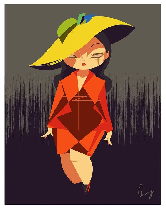 Plus Size Art: Cherry from Studio Killers OOTD- Friday femme fatale