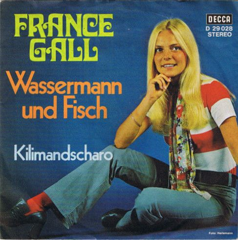 France Gall - Wassermann Und Fisch / Kilimandscharo at Discogs