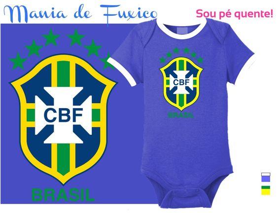 Nada como ter um torcedor pé quente e uniformizado em dia de jogo!  #body #kids #bebe #roupinha #bodysuit #camiseta #tshirt #selecaobrasileira #futebol #brasil #brazuca #fuleco #neymar #hexa #hexabrasil #campeao #championship #copadomundo #worldcup #footbal #fifa