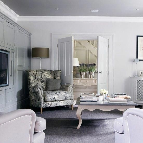 Grey And Lilac Living Room Living Room Decorating Ideas Country Homes Interiors Housetohome Co Lilac Living Rooms Country Living Room Mauve Living Room
