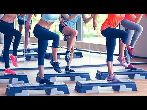 Step Mix 4 Youtube Com Imagens Step Aerobics Step Workout Hiit