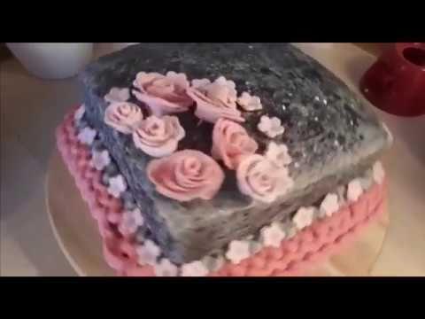 تورتة لأعياد الميلاد او لخطوبة او فرح حشي وتزيين اتمنا تعجبكم Desserts Sweet Food