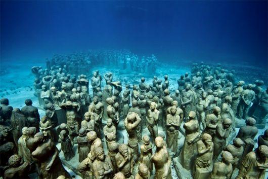 arte embaixo d'água
