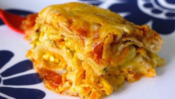 Slow cooker tortilla lasagna