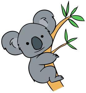 Clip Art Koala Bear Clip Art free cute koala clip art artborders pinterest art