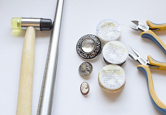 DIY button ring, I will surely be keeping an eye out for some sweet buttons from now on