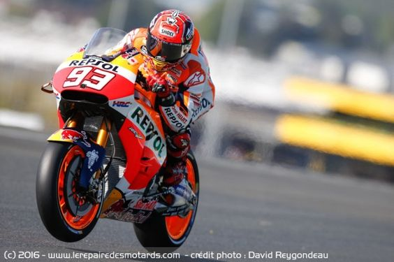 LeRepaireDesMotards.com - Marc Marquez au GP de France